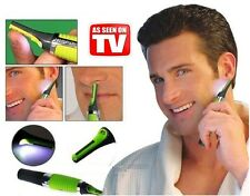 ALL IN ONE NOSE EAR NECK NASAL SIDEBURNS EYEBROWS HAIR TRIMMER REMOVER CLIPPER
