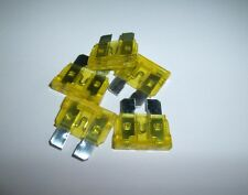 25 ATC Fuses Nickel 20 Amp for Car Boat Audio Auto Amplifiers Amps More Yellow