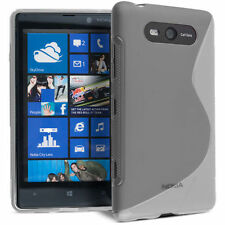HOUSSE ETUI COQUE SILICONE GEL TRANSPARENT NOKIA LUMIA 820