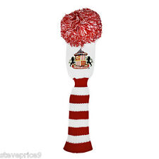 SUNDERLAND FC GOLF, POMPÓN MADERA FAIRWAY HEADCOVER