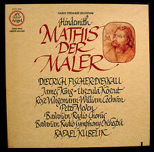 PAUL HINDEMITH-MATHIS DER MALER-Near Mint 3 Album Box Set-QUAD-ANGEL #SZCX-3869