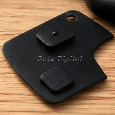 2 Button Remote Keyless Key Fob Shell Replacement Switch Rubber Pad for Toyota