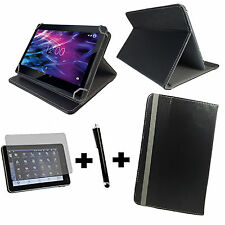10.1 zoll Tablet Tasche + Folie+Stift Acer Iconia Tab 10 A3-A40 3in1 Schwarz 10