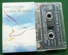 Chris de Burgh Spark To a Flame Very Best Cassette Tape - TESTED