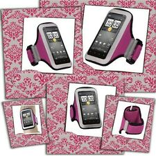 """Sports Armband Jogging Case Pink Protector for Blu Studio 5.0 S Mobile Phone 5"""""""