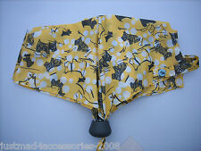 RADLEY - CHERRY BLOSSOM DOG YELLOW TELESCOPIC UMBRELLA - RADLEY & BLOSSOM PRINT