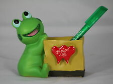 FROG VALENTINE Desk Tidy Pen Holder, a FUN VALENTINE's GIFT - Frog Love Token!