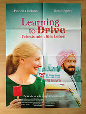 Filmposter * Kinoplakat * A1 * Learning to Drive * 2015 * Ben Kingsley