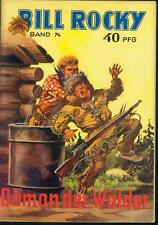Bill Rocky Nr.74 von 1952 mit Beilage Werbeflyer - TOP PABEL WESTERN ROMANHEFT
