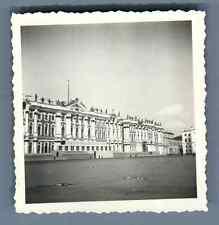 Russie, Saint-Pétersbourg, Palais d'hiver  Vintage silver print. Vintage Ru