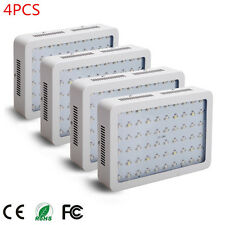 4PCS 600W LED Grow Light Full Spectrum IR UV Veg Flower Indoor Plant Panel