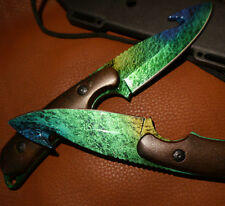 CS GO Gut Knife Gamma Doppler 3 Jagd Messer Counter  *Geschenk Handarbeit*