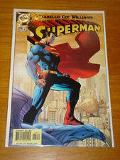 SUPERMAN #204 VOL 2 DC COMICS JIM LEE RUN BEGINS NM JUNE 2004