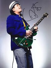 CARLOS SANTANA VERY RARE AMAZING IN PERSON SIGNED W/PROOF
