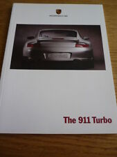 PORSCHE 911 TURBO BROCHURE jm