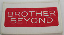 BROTHER BEYOND Original Vintage 1980`s Woven Sew On Patch