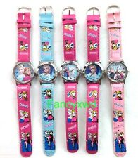 new lots of 10 pcs cartoon watches kids lovely children Wristwatches