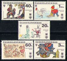 Czechoslovakia 1979 Insects/Frog/Horse/Wolf/Children's Books 5v set (n29103)
