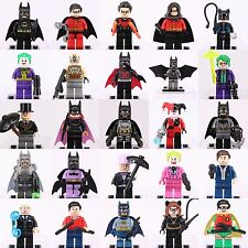 25pcs Marvel DC Comics  Superheroes Batman Robin Minifigures Fits Lego