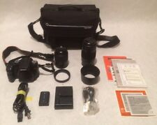 Sony Alpha DSLR-A100 10.2 MP Digital SLR Camera Bundle