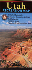 NEW 2012~MAP of UTAH, Benchmark Recreational Map~Fishing,Hunting,Camping,Skiing