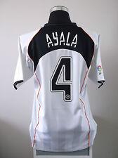 Roberto AYALA #4 Valencia Home Football Shirt Jersey 2004/05 (L)