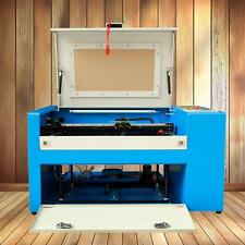 350B 50W CO2 Laser Cutter Engraving Machine Auxiliary Rotary Device 0-60000mm