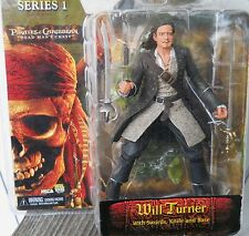 """NEW PIRATES OF THE CARIBBEAN PIRATE """"WILL TURNER""""  7."""" ACTION FIGURE SERIES  1"""