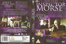 Inspector Morse - Service For The Dead - John Thaw - Series 1 Episode 3 - DVD