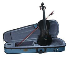 Stentor Harlequin Series 3/4 Size Violin Outfit with Case - Black