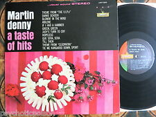 MARTIN DENNY - ‎A Taste Of Hits  LP  Liberty ‎– LST-7328 - USA 1964