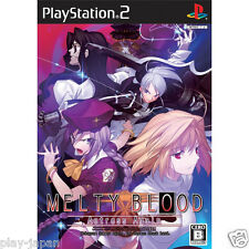 Used PS2 Melty Blood Actress Again japan import game