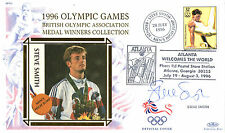1996 ATLANTA OLYMPIC GAMES BENHAM COVER SIGNED HIGH JUMPER STEVE SMITH