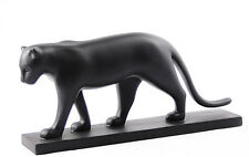 FRANCOIS POMPON Black Panther Animal Art Sculpture Statue Figure Figurine France