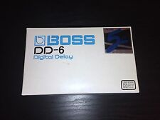 Boss DD-6 Digital Delay Pedal (Brand New!)