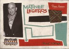 Panini 2011 Americana Material costume Telly Savalas Matinee Legends James Bond
