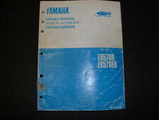 1991 Yamaha Exciter EX570R & EX570ER  Snowmobile Service Manual