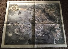 The Witcher 3 Cloth Map exclusive from the Collector's Edition