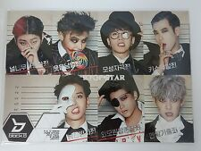 Block B BlockB Posters 12 Pcs (with Sticker ) Collection Bromide KPOP Korean Pop