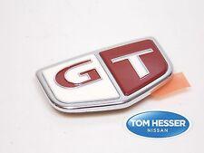 """JDM OEM Genuine NISSAN SKYLINE R33 GTR GT-R Fender RED """"GT"""" Emblem Badge"""