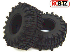 "Mud Slingers 2.2"" Tyres (2) RC4WD with Foams Wide footprint SOFT snow, sand, mud"