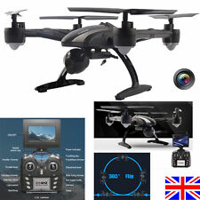 UK JXD 509G RC Drone Quadcopter with HD Monitor Camera 5.8G FPV Altitude Hold