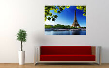 EIFFEL TOWER SUMMER NEW GIANT LARGE ART PRINT POSTER PICTURE WALL