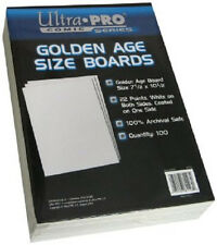 100 Ultra Pro Golden Size  Boards  Brand New