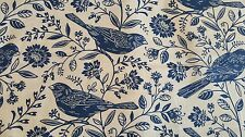 Toile Bluebirds on Eggshell, Chirp, RJR Fabrics, 100% QSQ Cotton, Sold BTY