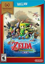 Legend of Zelda The Wind Waker HD new factory sealed Nintendo Wii U game