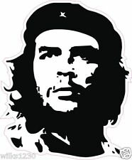 1 che guevara silhouette decals laptop car van bus truck mini sticker dub bike