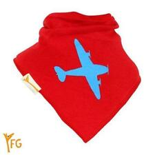 Funky Giraffe Red & Blue Plane Bandana Bib **Buy 4 get 1 FREE** 5 for £11.96