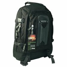 JEEP LAPTOP TRAVEL CABIN HAND LUGGAGE COLLEGE HIKING BACKPACK RUCKSACK BAG PH576
