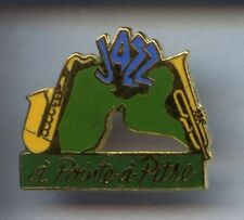 RARE PINS PIN'S .. MUSIQUE MUSIC  RADIO TV / RFO JAZZ GUADELOUPE #9A